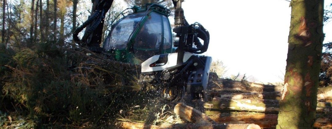 AFM 55 White Line harvester head